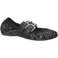 Cipők Női Balerina cipők  Mally 6097 Fekete