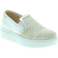 Cipők Női Belebújós cipők Exton E02 Fehér