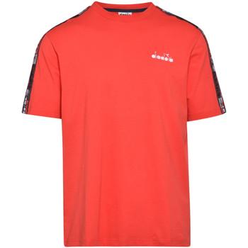 Ruhák Férfi Rövid ujjú pólók Diadora 502176429 Piros
