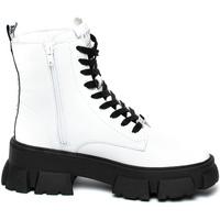 Cipők Női Csizmák Steve Madden SMSTANKER-WHTLEA Fehér