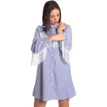 Ruhák Női Rövid ruhák Denny Rose 811DD10018 Kék