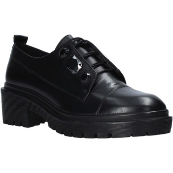 Cipők Női Oxford cipők Apepazza F0COMBAT09/DIA Fekete