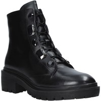 Cipők Női Csizmák Apepazza F0COMBAT07/DIA Fekete