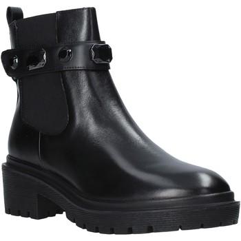 Cipők Női Bokacsizmák Apepazza F0COMBAT08/DIA Fekete