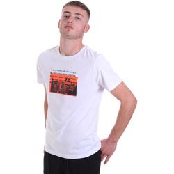 Ruhák Férfi Rövid ujjú pólók Antony Morato MMKS01880 FA100144 Fehér