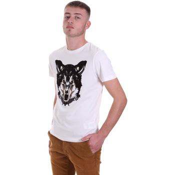 Ruhák Férfi Rövid ujjú pólók Antony Morato MMKS01878 FA100144 Fehér