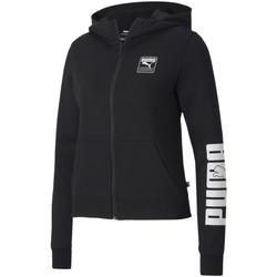 Ruhák Női Melegítő kabátok Puma 583567 Fekete