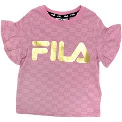 Ruhák Lány Rövid ujjú pólók Fila 688038 Rózsaszín