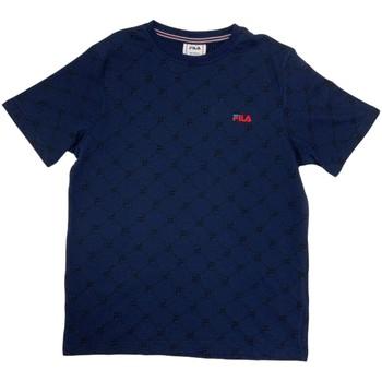 Ruhák Fiú Rövid ujjú pólók Fila 688084 Kék