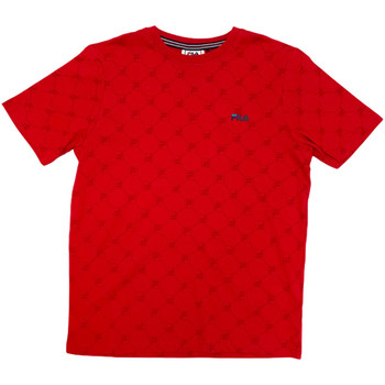 Ruhák Gyerek Rövid ujjú pólók Fila 688084 Piros