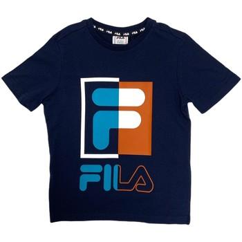 Ruhák Gyerek Rövid ujjú pólók Fila 688149 Kék
