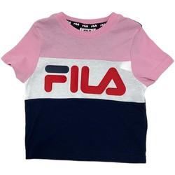 Ruhák Gyerek Rövid ujjú pólók Fila 688023 Rózsaszín