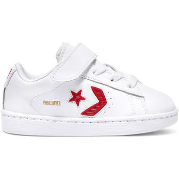Cipők Gyerek Rövid szárú edzőcipők Converse 768406C Fehér
