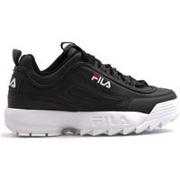 Cipők Gyerek Rövid szárú edzőcipők Fila 1011082 Fekete