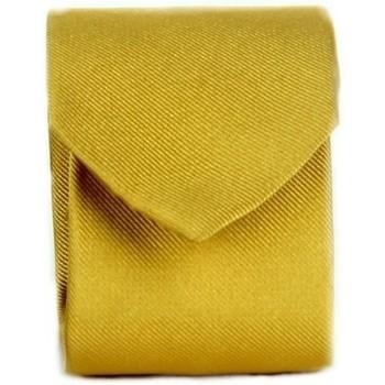 Ruhák Férfi Nyakkendők és kiegészítők Michi D'amato CRAVATTA 002 Yellow