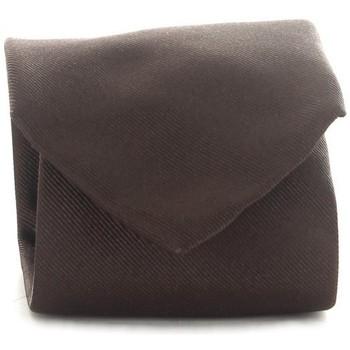 Ruhák Férfi Nyakkendők és kiegészítők Michi D'amato CRAVATTA 001 Brown