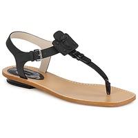Cipők Női Szandálok / Saruk Marc Jacobs CHIC CALF Fekete