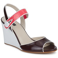 Cipők Női Szandálok / Saruk Marc Jacobs VOGUE GOAT Bordó / Rózsaszín