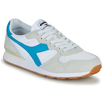 Cipők Férfi Rövid szárú edzőcipők Diadora CAMARO Kék / Fehér
