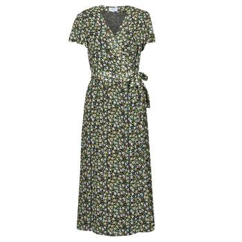 Ruhák Női Hosszú ruhák Betty London OMADAM Fekete  / Sokszínű