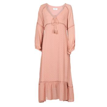 Ruhák Női Hosszú ruhák Betty London OFRI Rózsaszín