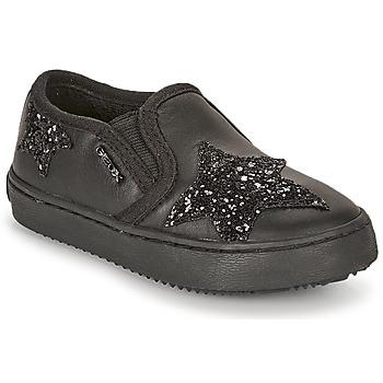 Cipők Lány Rövid szárú edzőcipők Geox J KALISPERA FILLE Fekete