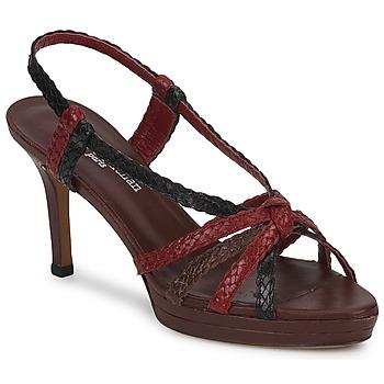 Shoes Női Szandálok / Saruk Stéphane Kelian PRISCILLE Barna / Piros