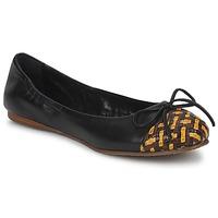 Cipők Női Balerina cipők / babák Stéphane Kelian WALLY Fekete  / Citromsárga