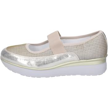 Cipők Női Balerina cipők  Cinzia Imprint balerina cipő BJ243 Ezüst
