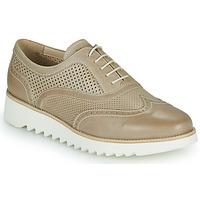 Cipők Női Oxford cipők NeroGiardini SUZZE Bézs