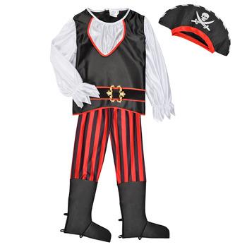 Ruhák Fiú Jelmezek Fun Costumes COSTUME ENFANT PIRATE TOM Sokszínű