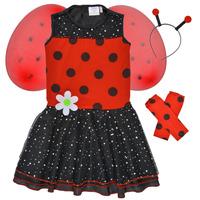 Ruhák Lány Jelmezek Fun Costumes COSTUME ENFANT BIRDIE BEETLE Sokszínű