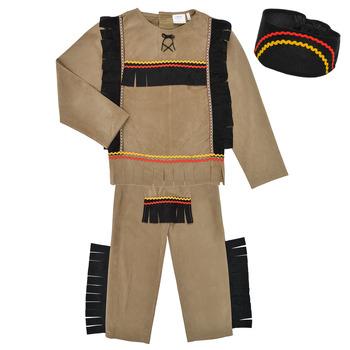 Ruhák Fiú Jelmezek Fun Costumes COSTUME ENFANT INDIEN BIG BEAR Sokszínű