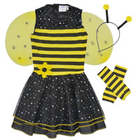 Ruhák Lány Jelmezek Fun Costumes COSTUME ENFANT BEE BEE Sokszínű