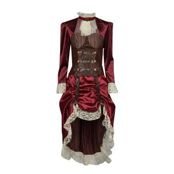 Ruhák Női Jelmezek Fun Costumes COSTUME ADULTE LADY STEAMPUNK Sokszínű