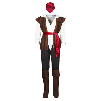 Ruhák Férfi Jelmezek Fun Costumes COSTUME ADULTE PIRATE THUNDER Sokszínű