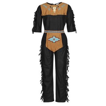 Ruhák Férfi Jelmezek Fun Costumes COSTUME ADULTE INDIENNE SHE-WOLF Sokszínű