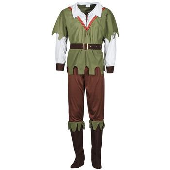 Ruhák Férfi Jelmezek Fun Costumes COSTUME ADULTE FOREST HUNTER Sokszínű