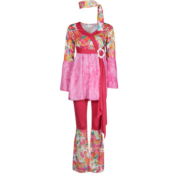 Ruhák Női Jelmezek Fun Costumes COSTUME ADULTE HAPPY DIVA Sokszínű