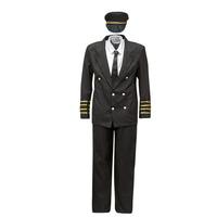 Ruhák Férfi Jelmezek Fun Costumes COSTUME ADULTE PILOTE Sokszínű