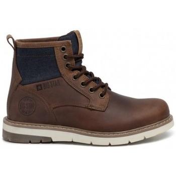 Cipők Női Csizmák Big Star EE274005 Barna