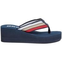 Cipők Női Lábujjközös papucsok Big Star FF274A301