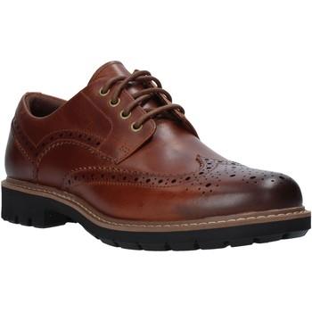 Cipők Férfi Gyékény talpú cipők Clarks 127191 Barna