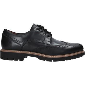 Cipők Férfi Gyékény talpú cipők Clarks 127192 Fekete