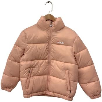 Ruhák Gyerek Steppelt kabátok Fila 688419 Rózsaszín