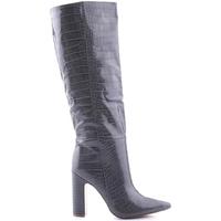 Cipők Női Csizmák Steve Madden SMSROUGE-GRYCRO Szürke