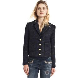 Ruhák Női Kabátok Gaudi 821BD35025 Fekete