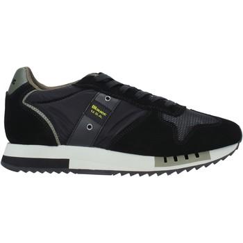 Cipők Férfi Divat edzőcipők Blauer F0QUEENS01/CAM Fekete