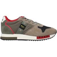 Cipők Férfi Divat edzőcipők Blauer F0QUEENS01/CAM Zöld