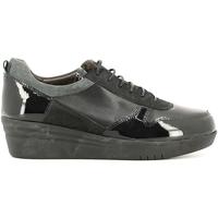 Cipők Női Rövid szárú edzőcipők Grunland SC2365 Fekete